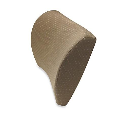 Therapedic 174 Super Soft Memory Foam Lumbar Pillow In Taupe