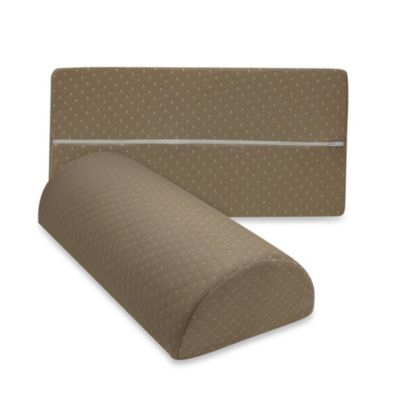 Therapedic® Any Position Memory Foam Pillow in Taupe