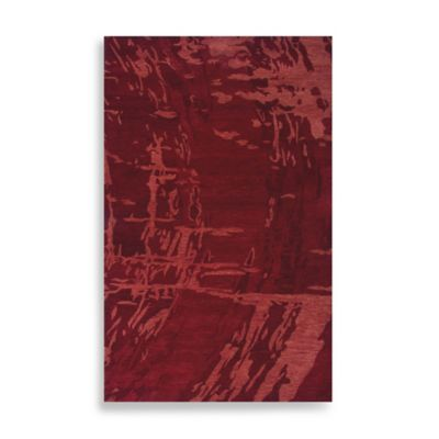 Highland 5-Foot x 8-Foot Rug in Red