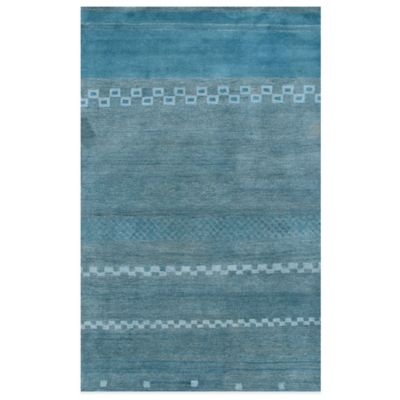 Mojave 5-Foot x 8-Foot Area Rug in Blue