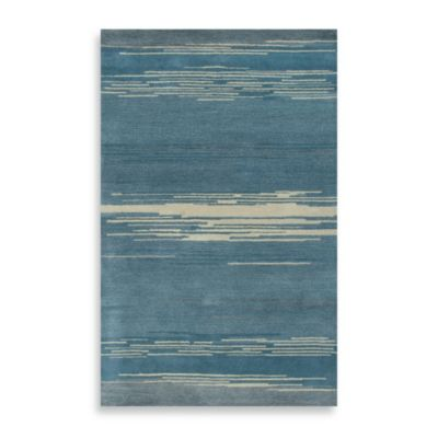 Mojave 5-Foot x 8-Foot Area Rug in Blue/Beige