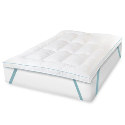 Therapedic® California King MemoryLOFT™ EuroGEL Deluxe Bed Topper