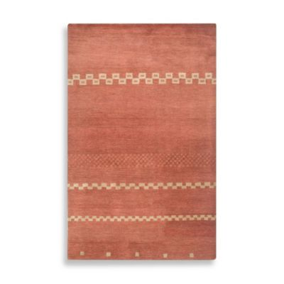 Mojave 2-Foot 6-Inch x 8-Foot Area Rug in Red