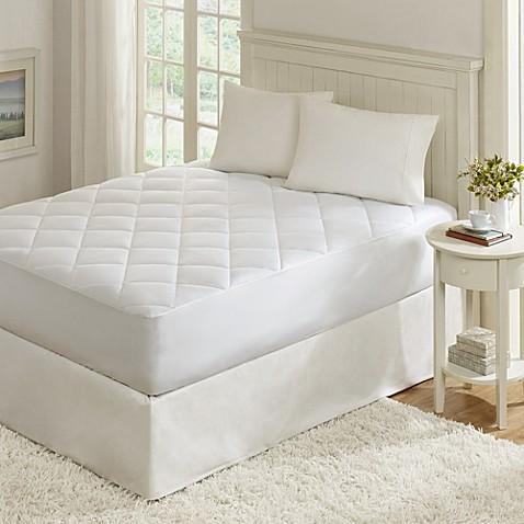 Madison Park Quiet Nights Waterproof Mattress Pad Bed