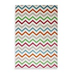 Herringbone Cream Rectangular Rug