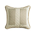 Fairfield Herringbone and Natural Linen Pocket Toss Pillow