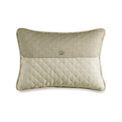 Fairfield Linen and Herringbone Envelope Throw Pillow