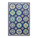Clover Leaf Wildaster Rectangular Rug