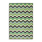 Herringbone Ginko Rectangular Rug