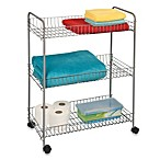 3-Tier Large Rolling Cart
