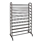 50-Pair Shoe Rack in Bronze