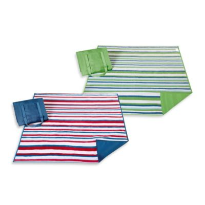 Madison Park 3M Stain Release Travel Blanket