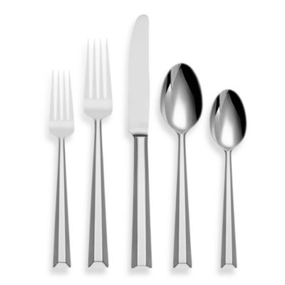 kate spade new york Library Lane 5-Piece Flatware Place Setting