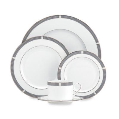 Lenox® Silver Sophisticate 5-Piece Dinnerware Set