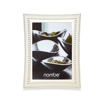 Nambe Beaded 5-Inch x 7-Inch Frame