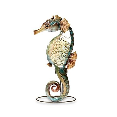 Buy seahorse capiz shell tealight holder from bed bath beyond - Capiz shell tealight holder ...