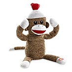 Baby Starters® Soft Plush Peekaboo Sock Monkey Toy