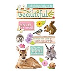 Paper House® All Things Beautiful 3D Stickers
