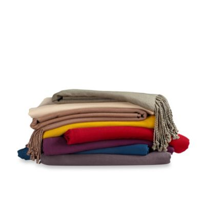 Solid Brown Blankets & Throws