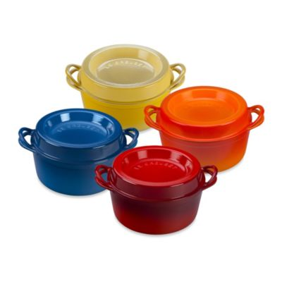 Le Creuset® 4.5-Quart Round Doufeu Oven in Flame