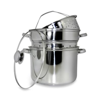 Metallic 18 / 10 Stainless Steel Cookware