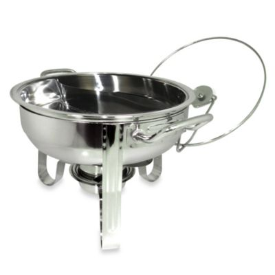 Cook Pro® 4-Quart Chafing Dish with Duo Section Food Tray