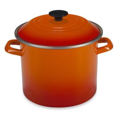 Le Creuset® 16 qt. Stock Pot in Flame