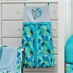 Bananafish® Peacock Blue Diaper Stacker