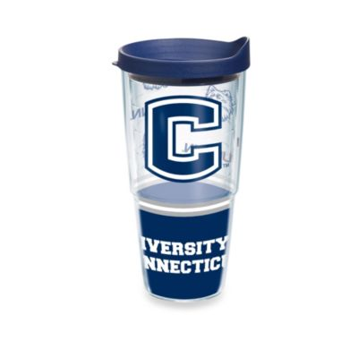 Tervis® University of Connecticut 24-Ounce Wrap Tumbler with Blue Lid
