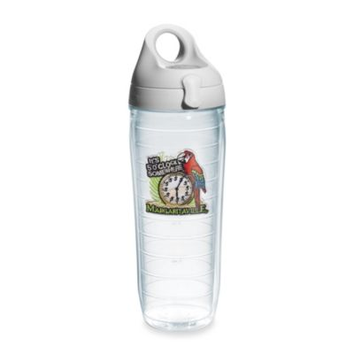 "Tervis® Margaritaville ""It's 5 O'Clock Somewhere"" 16-Ounce Emblem Water Bottle with Lid"