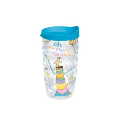 Tervis® Dr. Seuss Oh The Places You'll Go 10-Ounce Wavy Wrap Tumbler with Lid