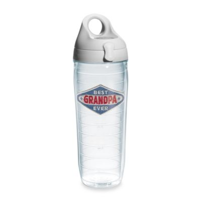 Tervis® Hallmark Best Grandpa Ever Denim Emblem 24-Ounce Water Bottle