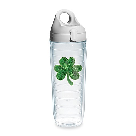 Tervis® Sequin Shamrock 24-Ounce Water Bottle