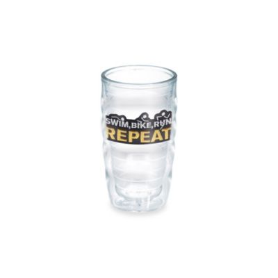 Tervis® Swim, Bike, Run Repeat 10-Ounce Wavy Tumbler