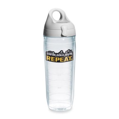 Tervis® Swim, Bike, Run. Repeat. 24-Ounce Water Bottle with Lid