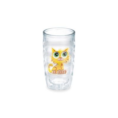 Tervis® Satin Happy Cat Emblem 10-Ounce Wavy Tumbler