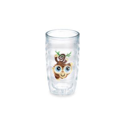 Tervis® Happy Satin Monkey Emblem 10-Ounce Wavy Tumbler