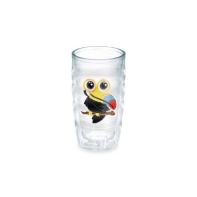 Tervis® Happy Satin Toucan Emblem 10-Ounce Wavy Tumbler