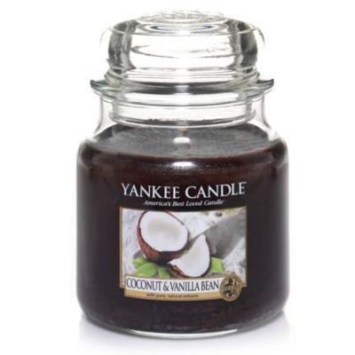 Yankee Candle® Coconut & Vanilla Bean™ Medium Classic Candle Jar