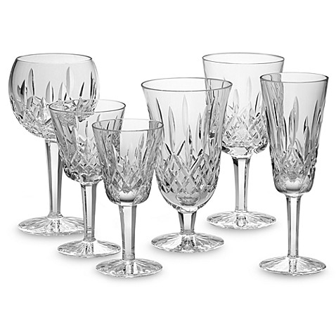 Waterford® Lismore Crystal Stemware and Barware