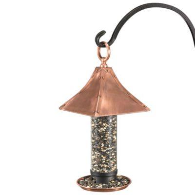 Good Directions Palazzo Medium Bird Feeder in Copper Finish