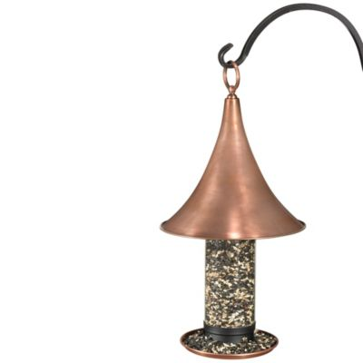 Good Directions Castella Medium Bird Feeder in Copper Finish
