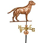 Good Directions Labrador Retriever Weathervane in Polished Copper Finish