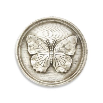 Bergson Butterfly Plaque IV Indoor/Outdoor Wall Art