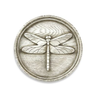 Bergson Dragonfly Plaque IV Indoor/Outdoor Wall Art