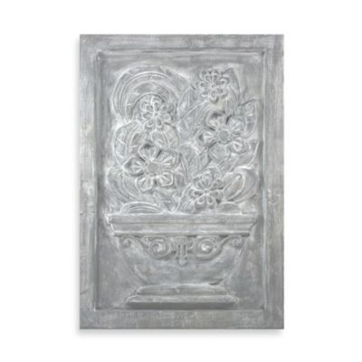 Brilla Floral I Plaque
