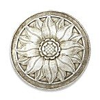 Fahima Floral Medallion Indoor/Outdoor Wall Art