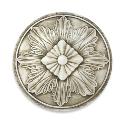 Fahima Leaf Medallion Indoor/Outdoor Wall Art