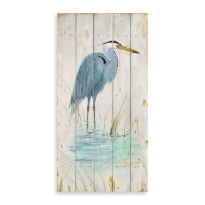 Blue Heron 1 Wood Wall Plaque