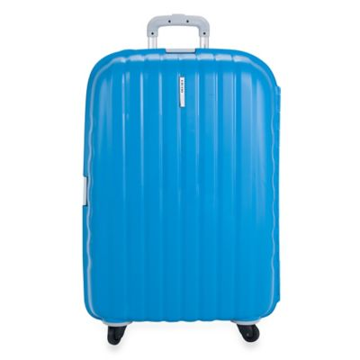DELSEY Helium Colours 30-Inch Spinner Suitcase in Blue